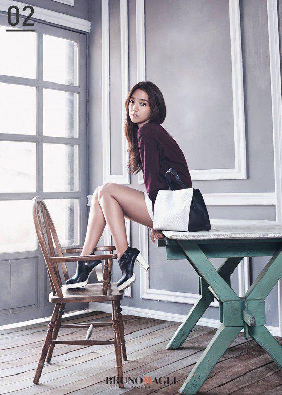 "Park Shin Hye Looks Classy and Elegant for ""Bruno Magli"" | Koogle TV"