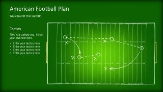 Editable game plan template for powerpoint powerpoint templates american football game plan template for powerpoint football sports templates toneelgroepblik