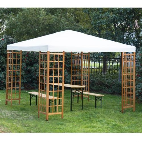 Gazebo For Patio Outdoor Canopy Party Tent 10u0027x10u0027 Yard Sunshade Garden Shelter & Gazebo For Patio Outdoor Canopy Party Tent 10u0027x10u0027 Yard Sunshade ...
