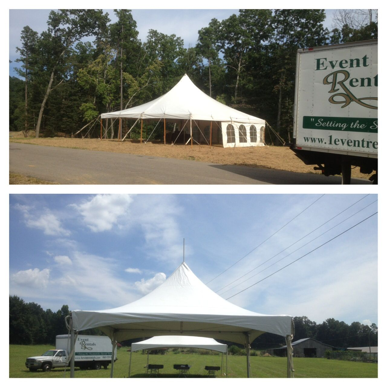 10x10 Tent Set In Northern Georgia Done By Event Rentals By Rothchild Corporate Event Tent Georgia 10x10 Tent Outdoor Outdoor Structures