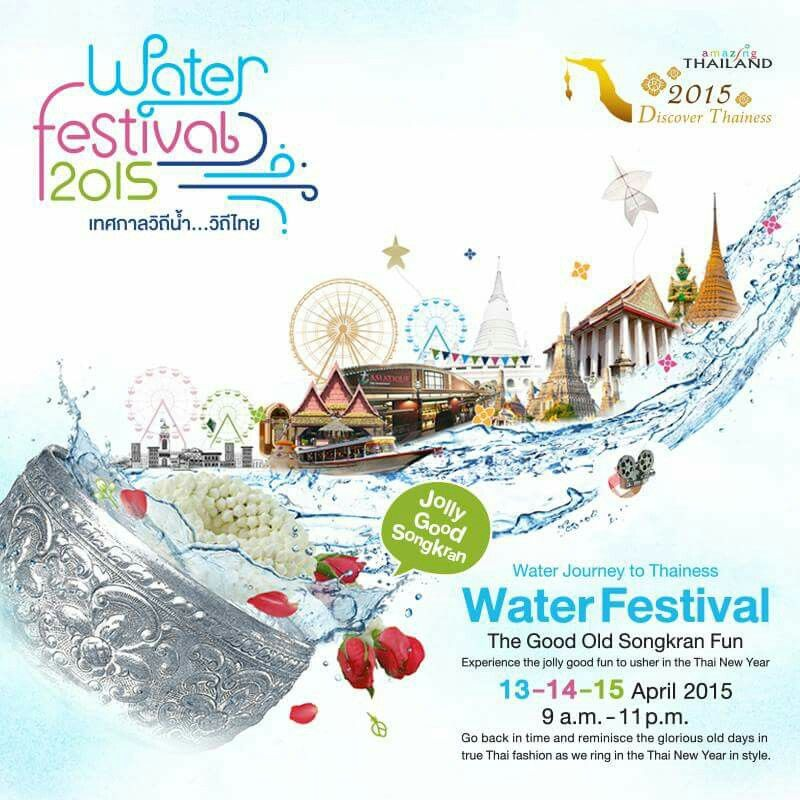 Songkran Festival is Thai New Year, and time to play water