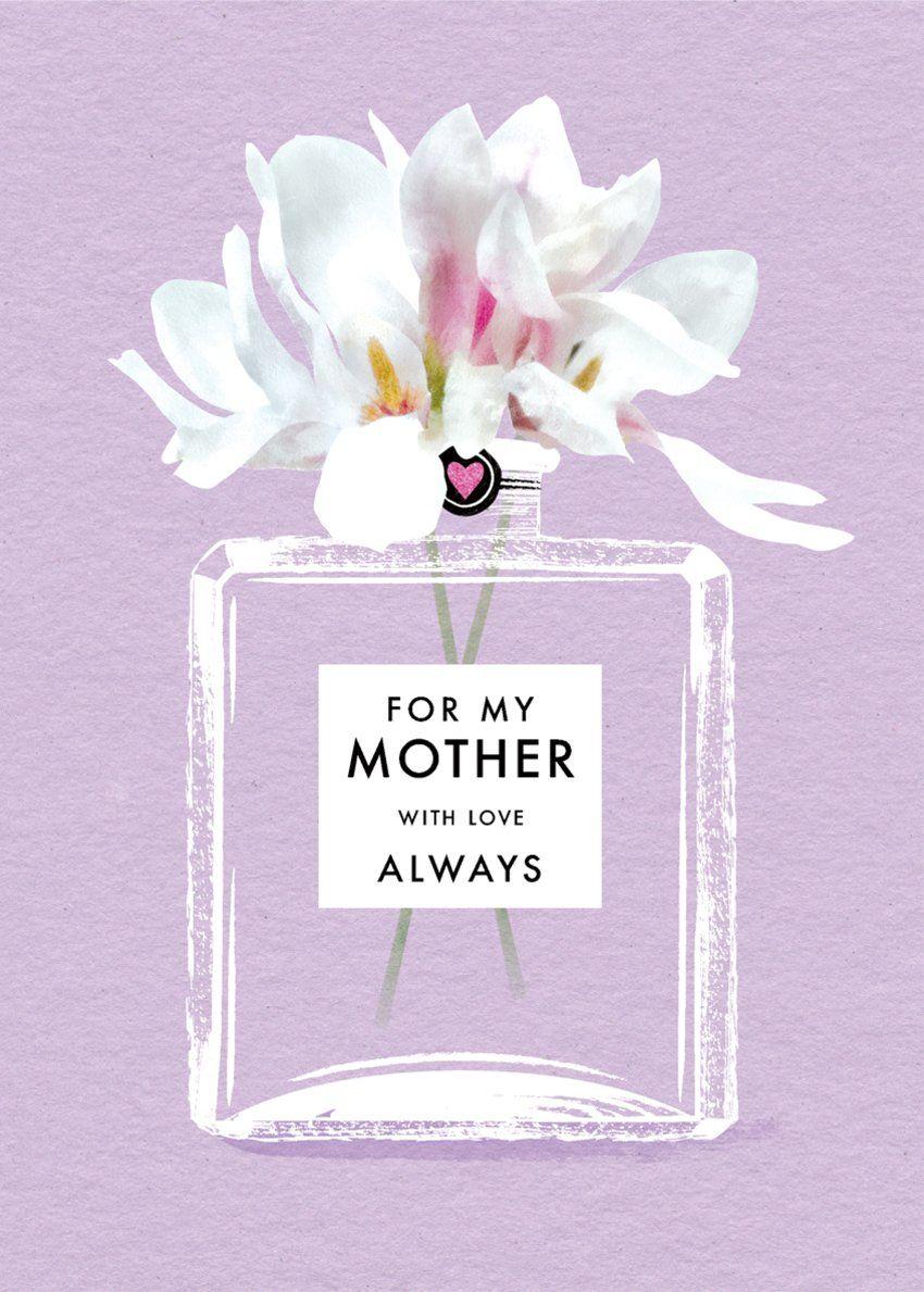 Mothers day mom mum grandma female birthday friend perfume bottle