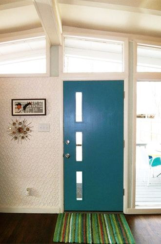 mid century modern front doors. Crestview Doors: Period-Perfect Front Doors For Mid-Century Modern Homes Mid Century
