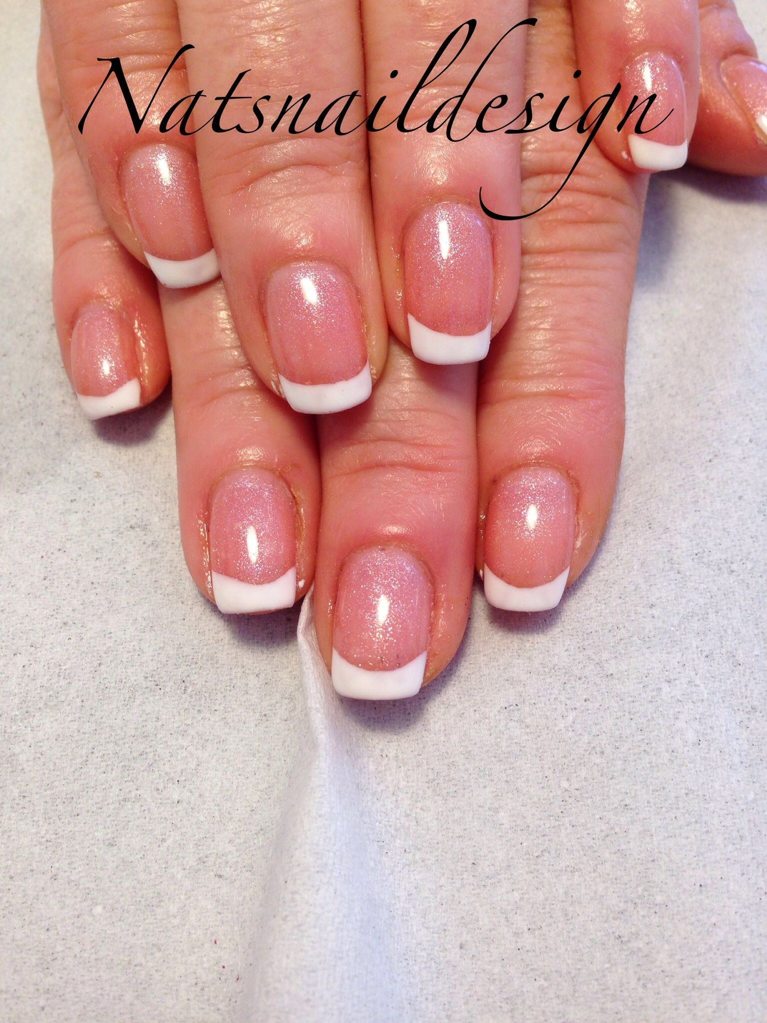 French manicure on natural nails | Beautiful nails | Pinterest ...