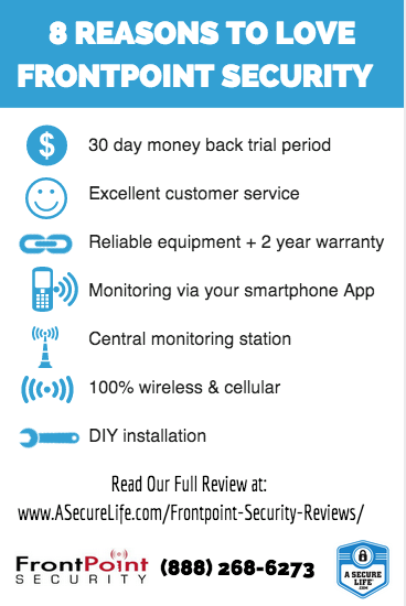 Frontpoint Security Review Diy Meets Service Best Home Security