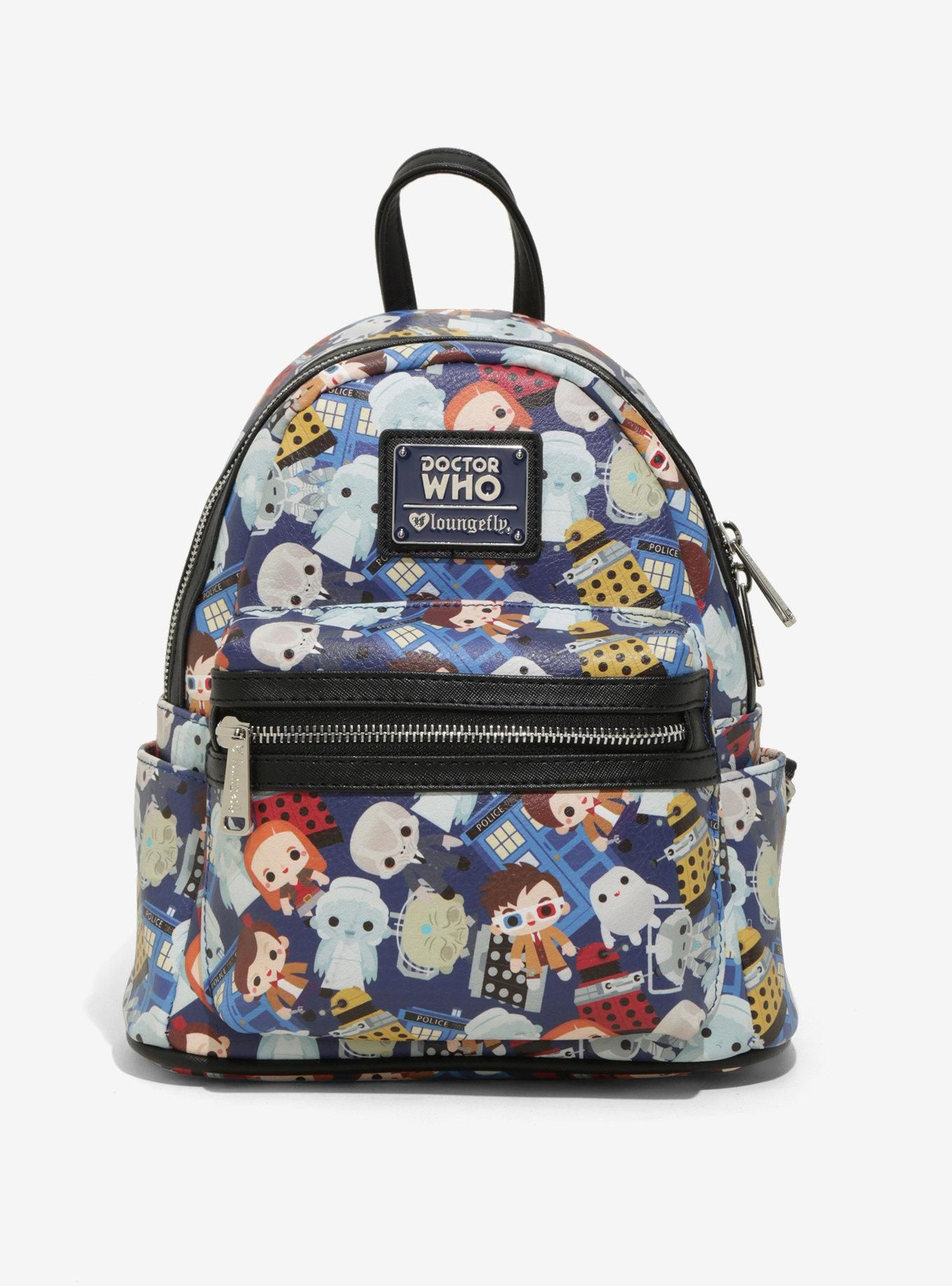 Loungefly Doctor Who Mini Backpack BoxLunch Exclusive