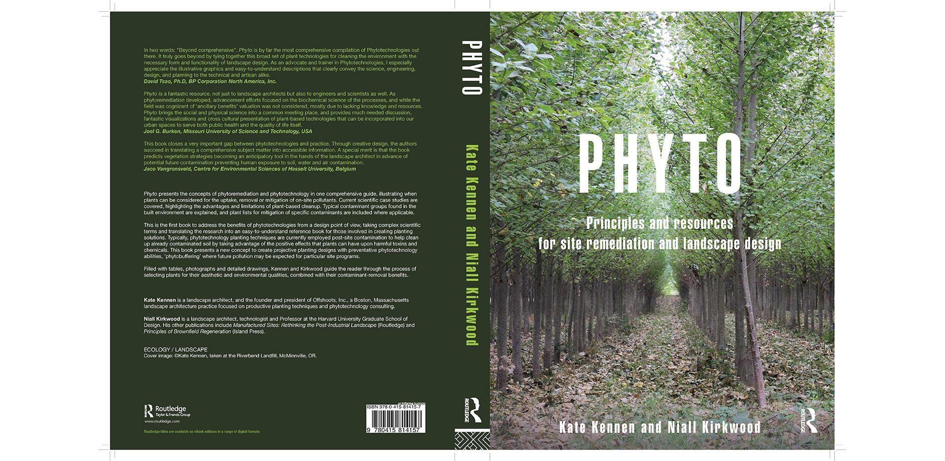 Phyto Front And Back Book Cover Landscape Design Landscape Phyto