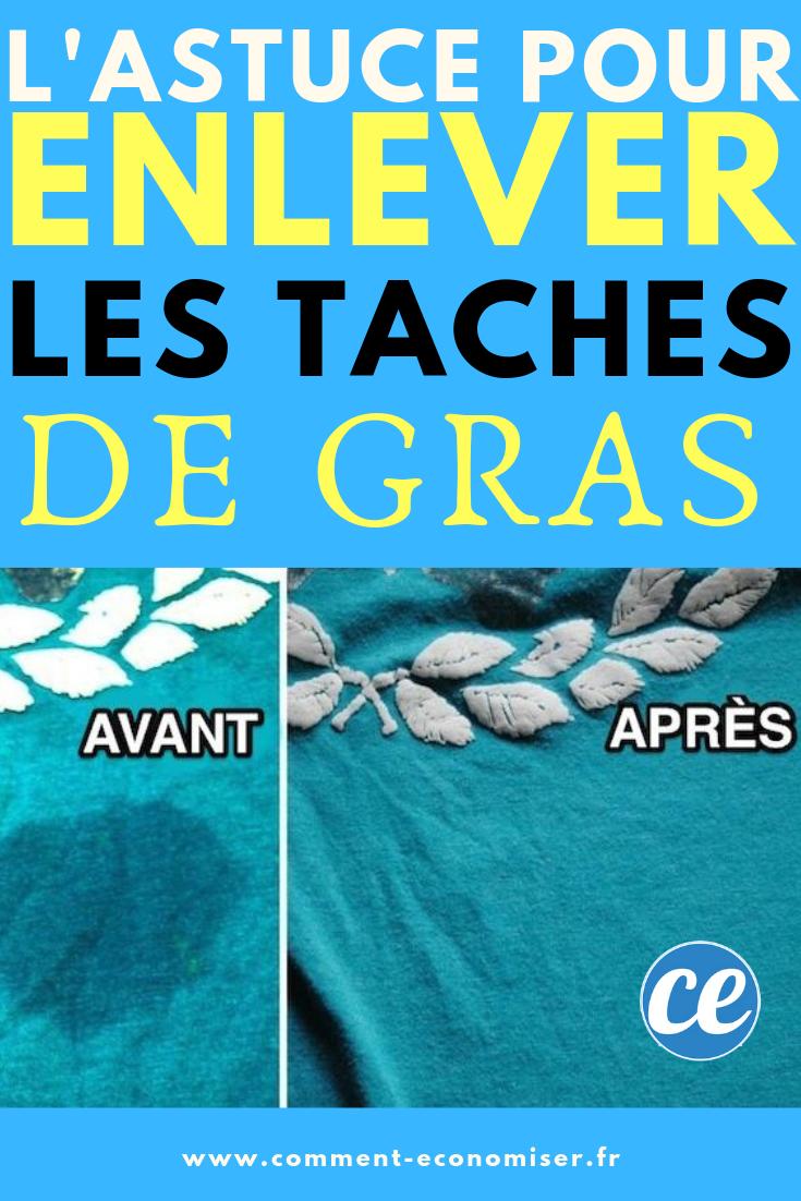 Enlever Tache De Graisse : enlever, tache, graisse, L'Astuce, Magique, Enlever, Tache, Vêtement., Tâche, Gras,, Graisse