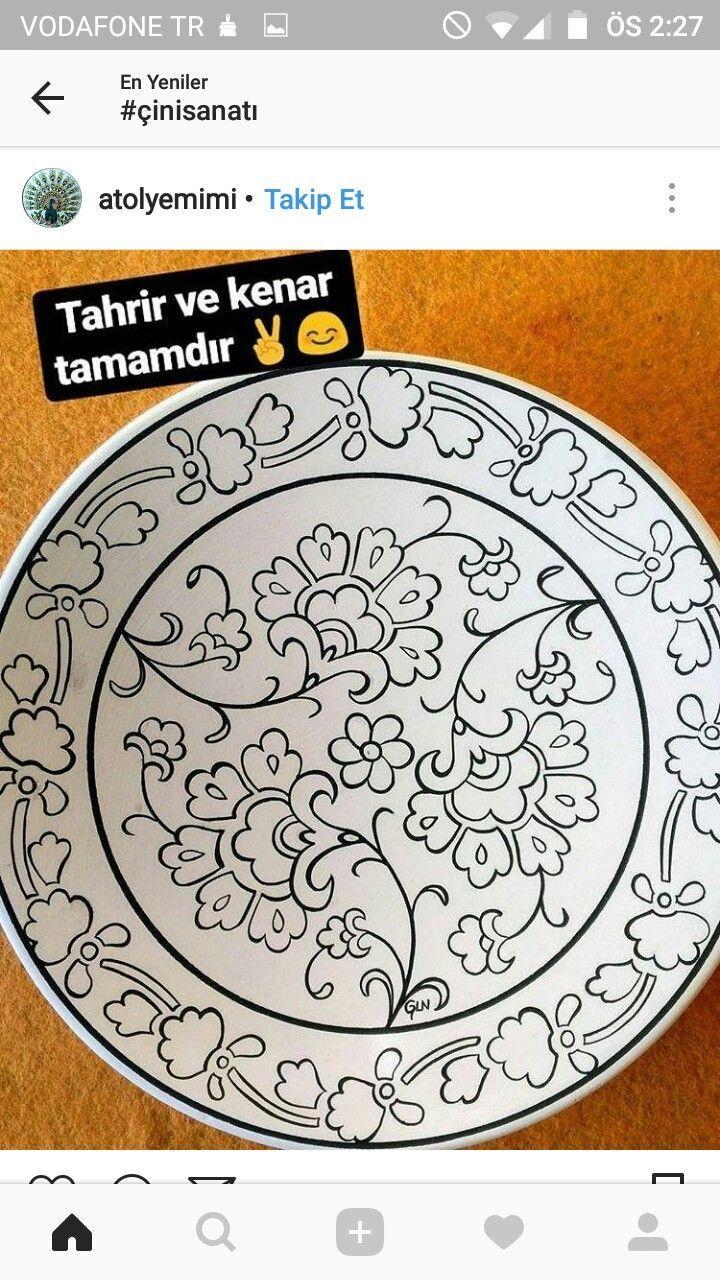 Brandy Lanphear Adli Kullanicinin Cini Tabak Panosundaki Pin Boyama Sayfalari Mandala Boyama Sayfalari Desenler