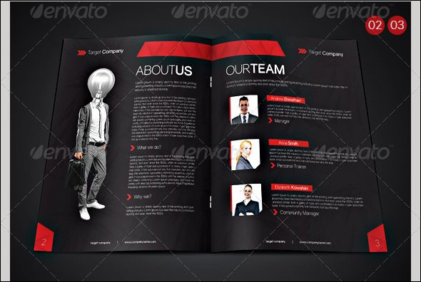 Free  Premium Psd Corporate Brochure Designs  Corporate