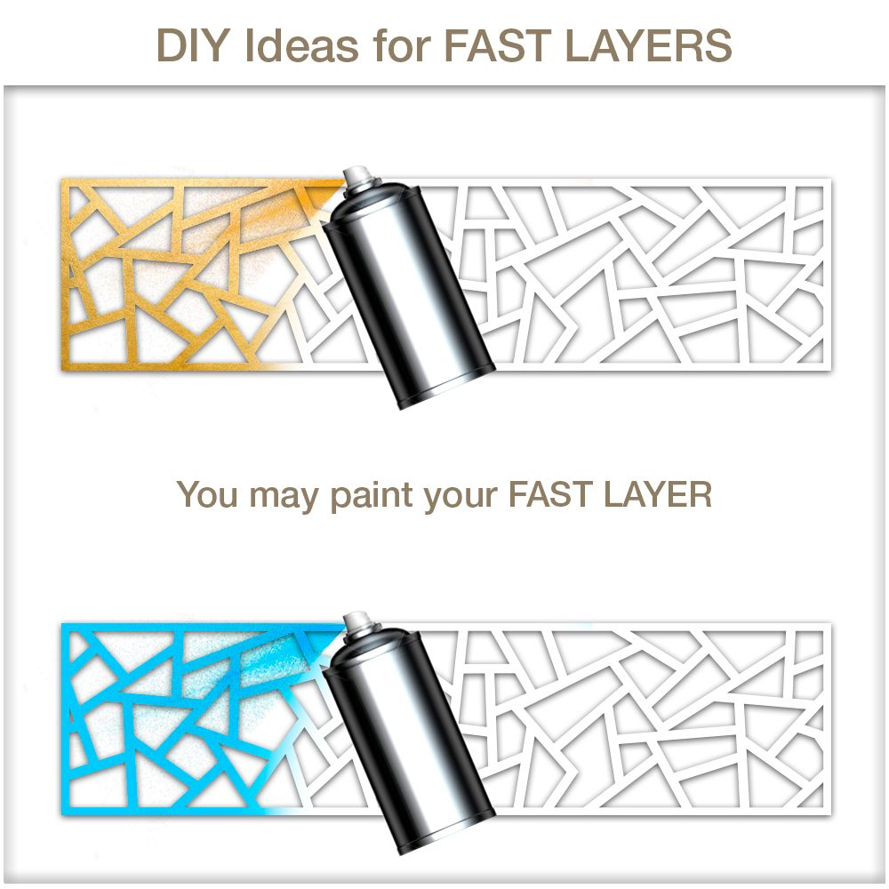 Furniture Overlays Coral Glam up your IKEA® furniture with these easy-to-apply Furniture Overlays Coral - FAST LAYERS! You will be amazed by the final resul