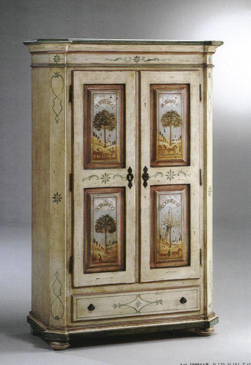 Mobili dipinti rustici su pinterest mobili di campagna for Camera padronale di campagna francese