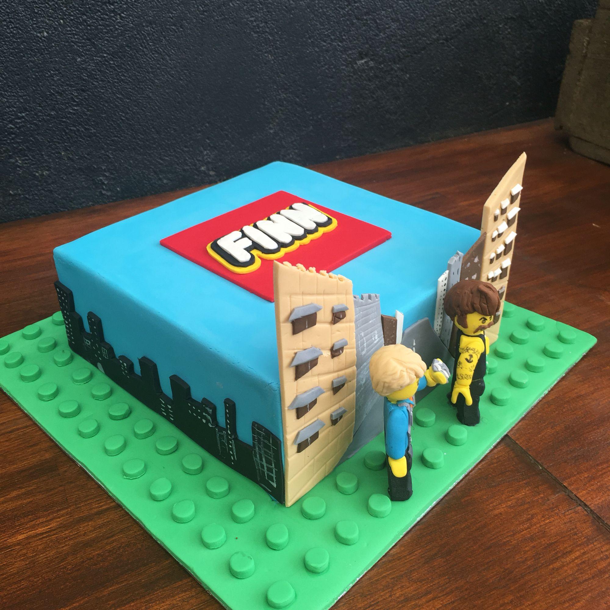 Lego City Undercover Cake