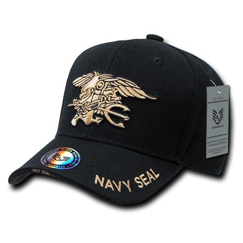 US Navy SEAL United States Navy Officially Licensed Military Hat Baseball  Cap Hat 61ea5430715