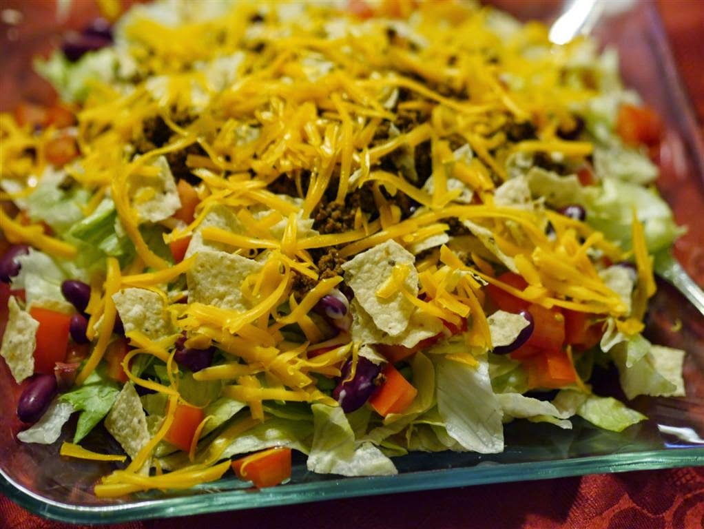 Honey Bee's Food and Wine: Simply Taco Salad