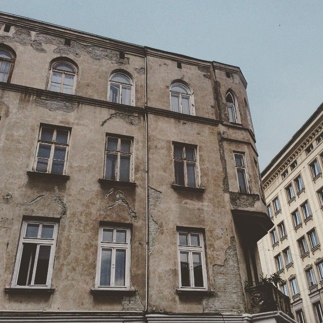 Beautiful facade in Mokotów, Warsaw