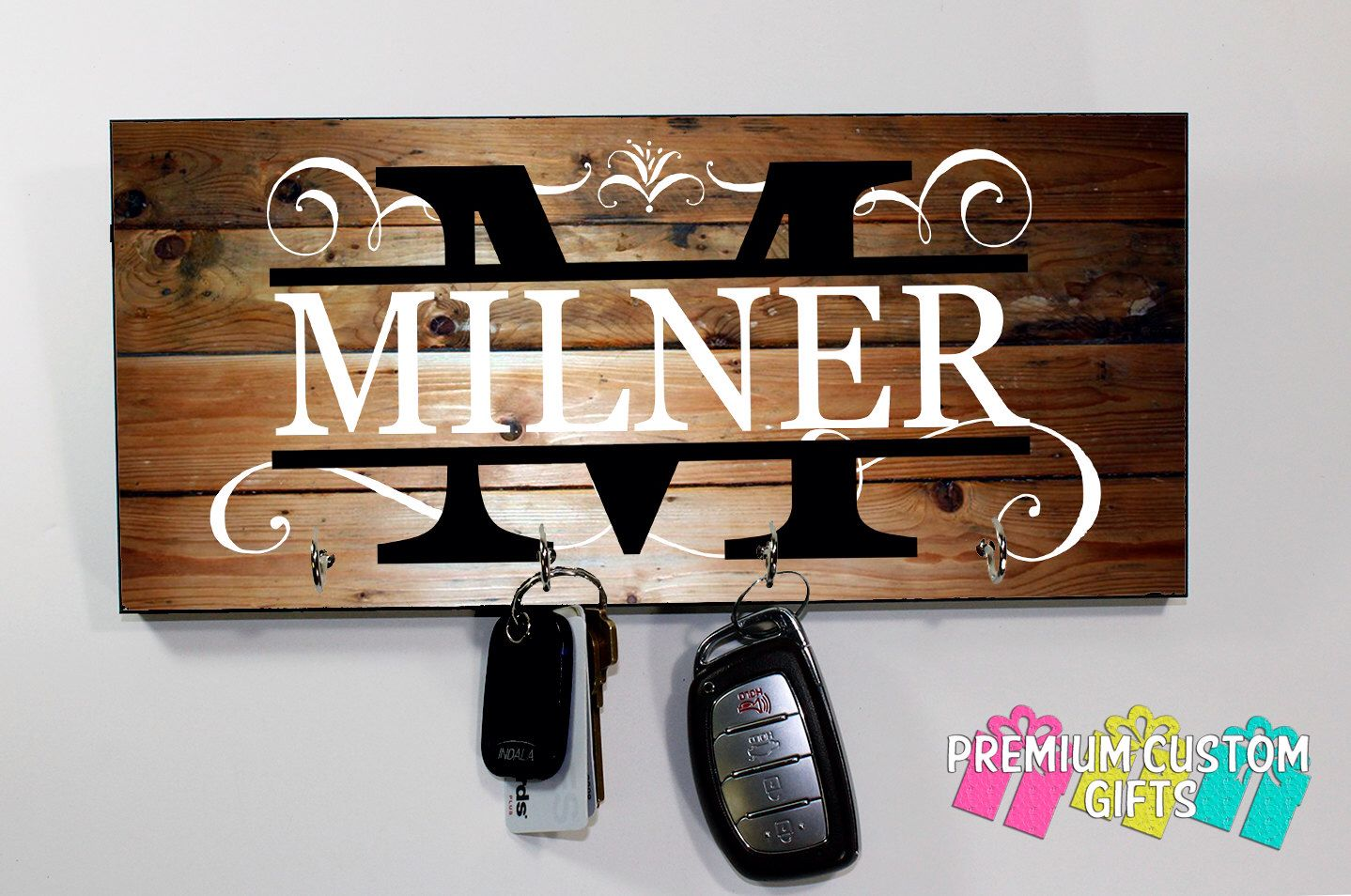 Personalized House Warming Gift Personalized Key Holder Wedding Gift Anniversary Gift