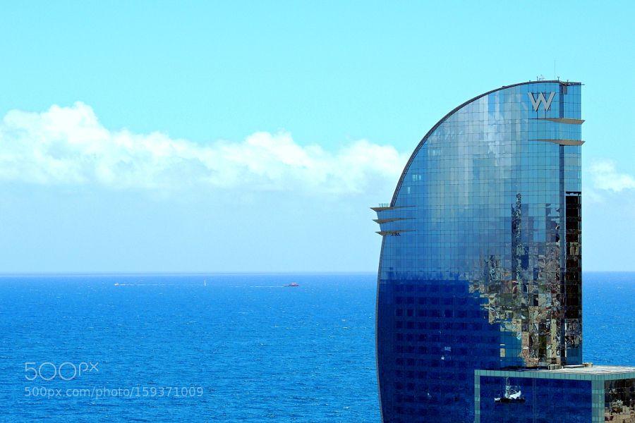 W Barcelona by LadyGi. @go4fotos