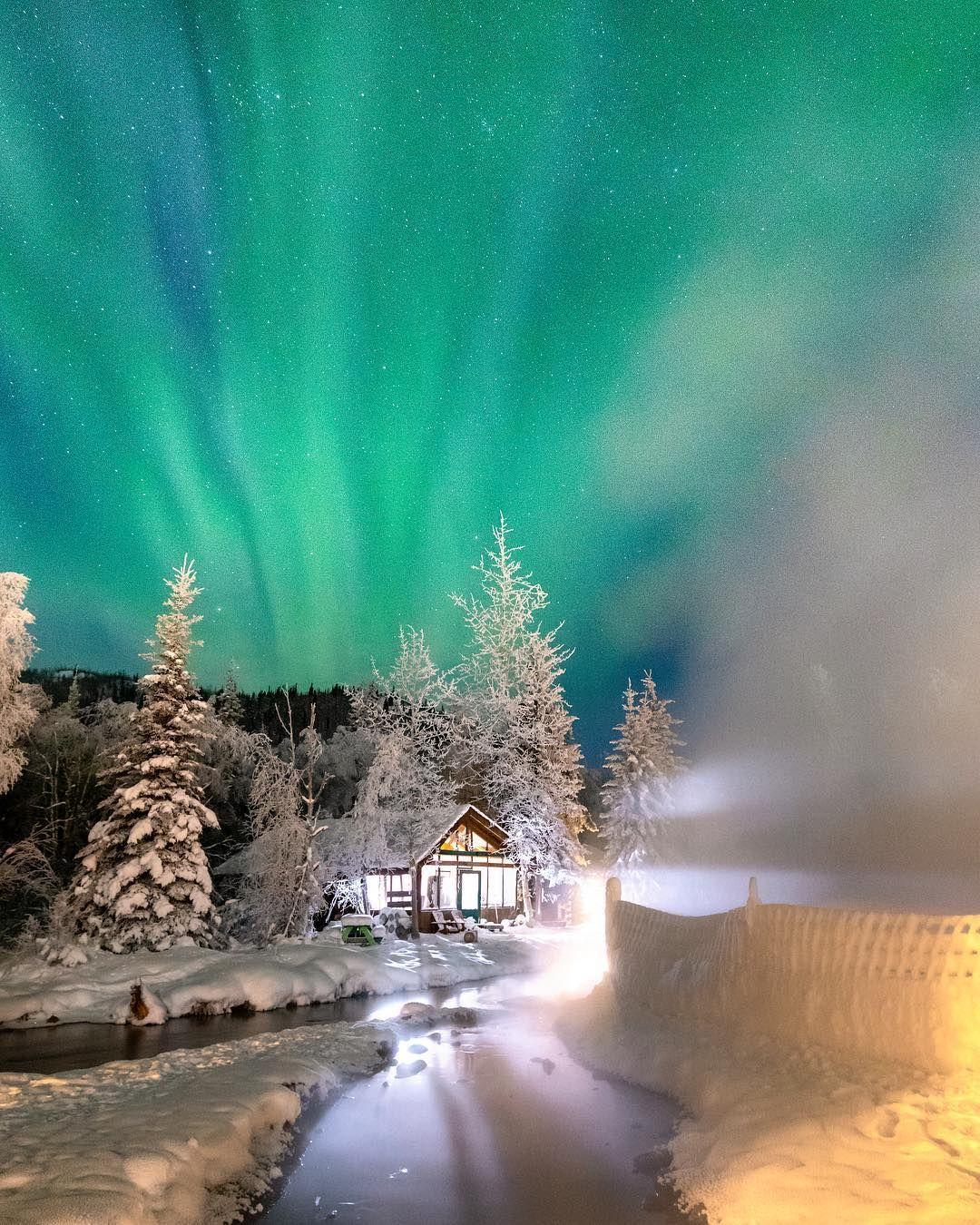 Winter Northern Lights, Alaska Northern