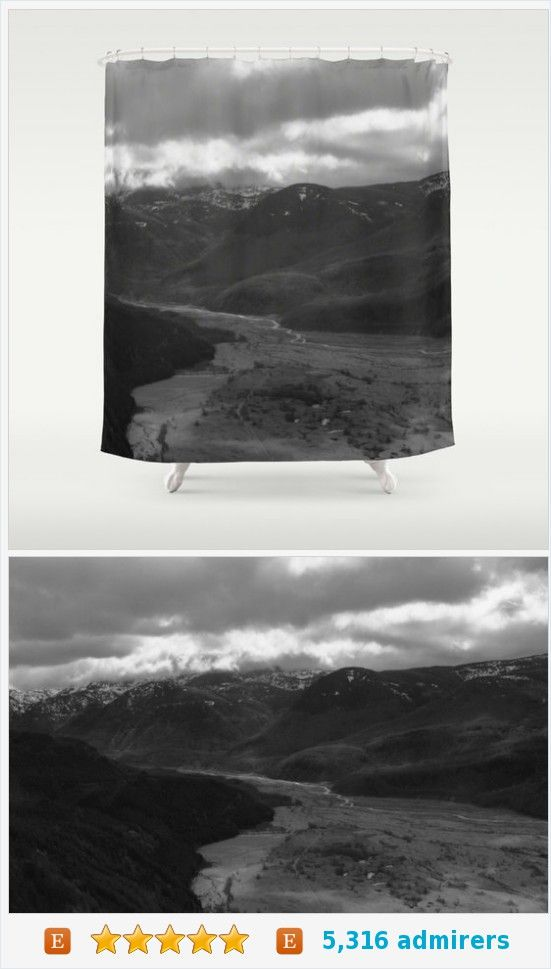 Mt. Saint Helens Shower Curtain - Photograph Mount Saint Helens - Nature Photo Shower Curtain - Bathroom Decor - Made to Order https://www.etsy.com/listing/215898743/