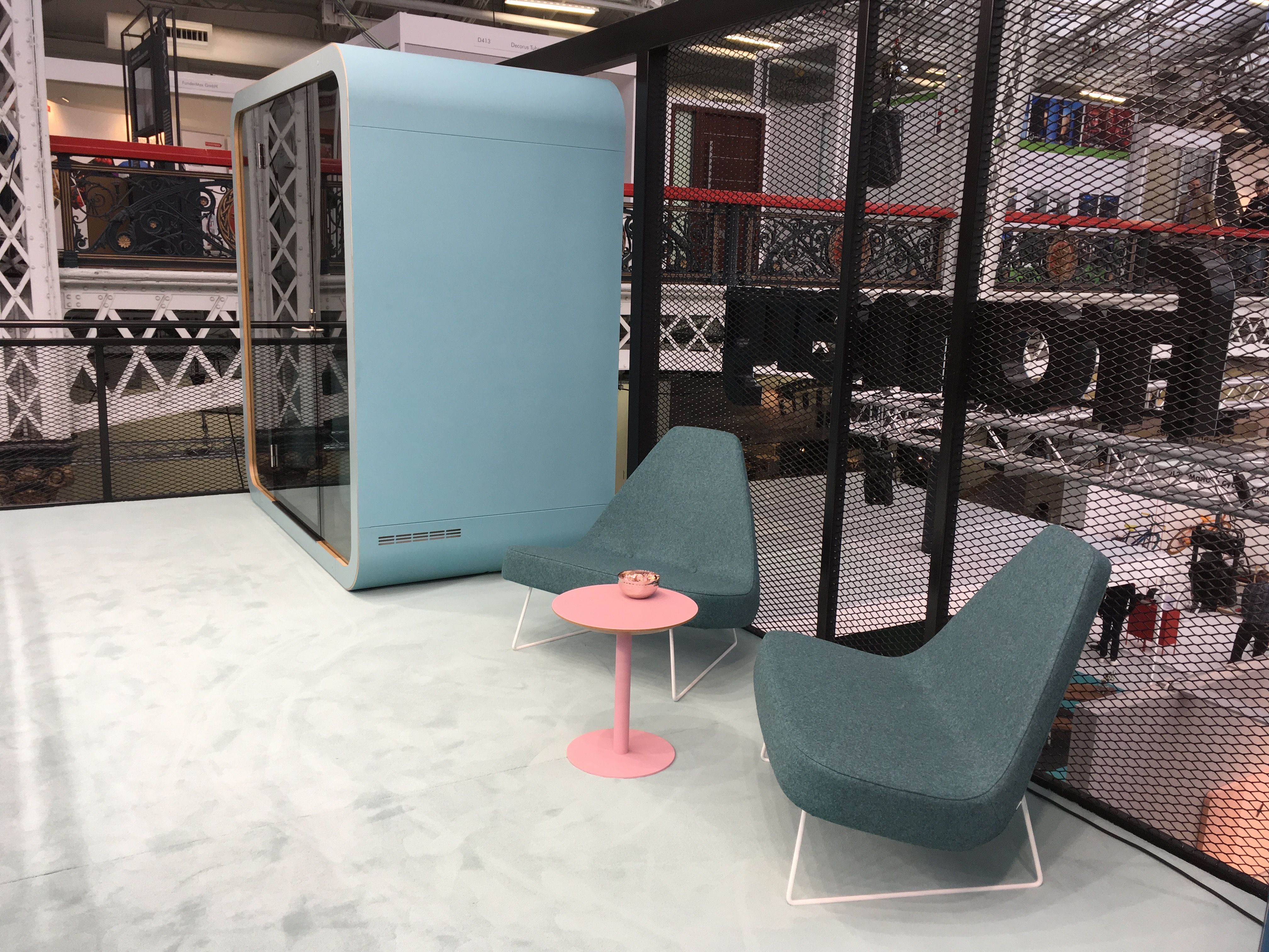 100 percent design 2017 at london design festival creating happy 100 percent design 2017 at london design festival creating happy offices sound proof acoustic malvernweather Choice Image