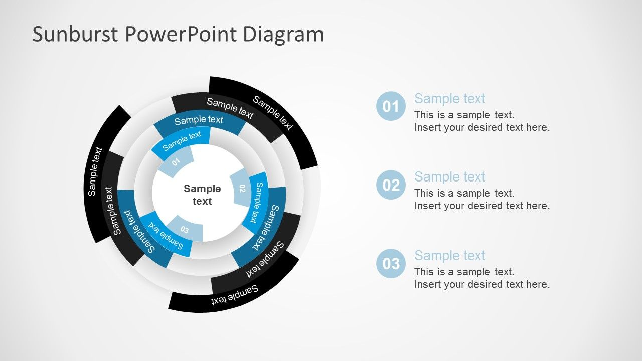 Free Sunburst Powerpoint Presentation Diagrams  Diagram And Template