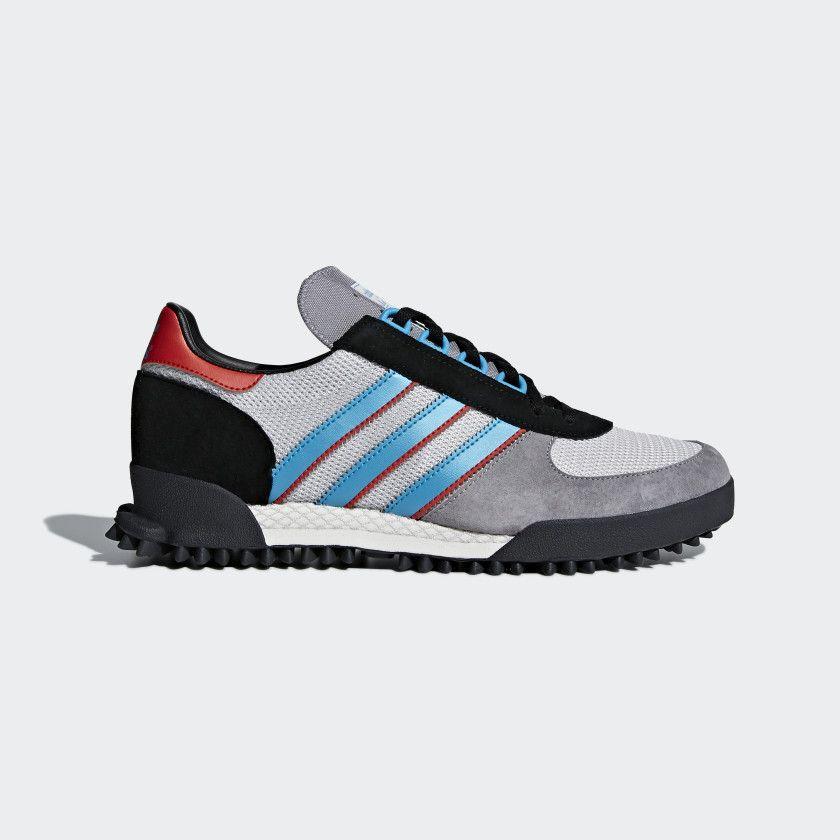 Marathon TR Shoes Grey Three Chalk White Core Black