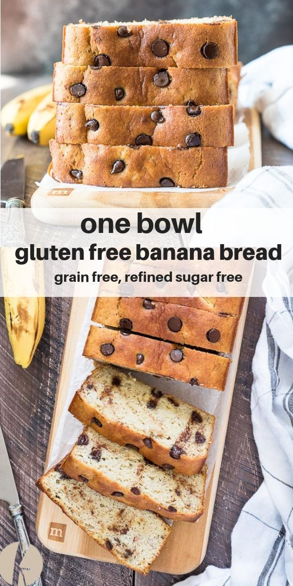 Bowl Gluten Free Banana Bread is super moist, healthy almond flour banana bread that's completely grain free and refined sugar free! via @FlavortheMoment