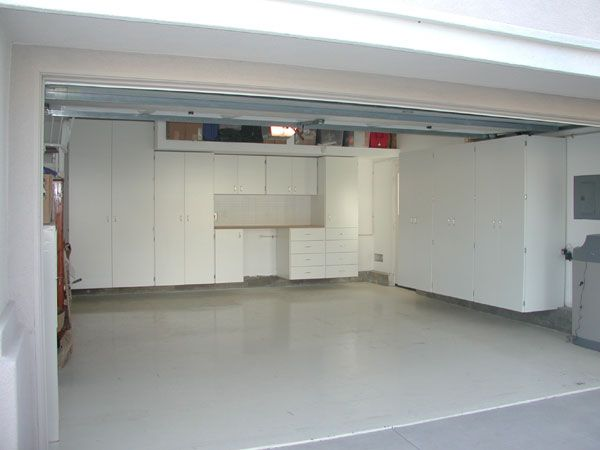 FurnitureAstounding Garage Design Ideas With Clean IKEA Cabinet Storage Set In Pure White Color Featuring Seamless Marble TextureOutstanding