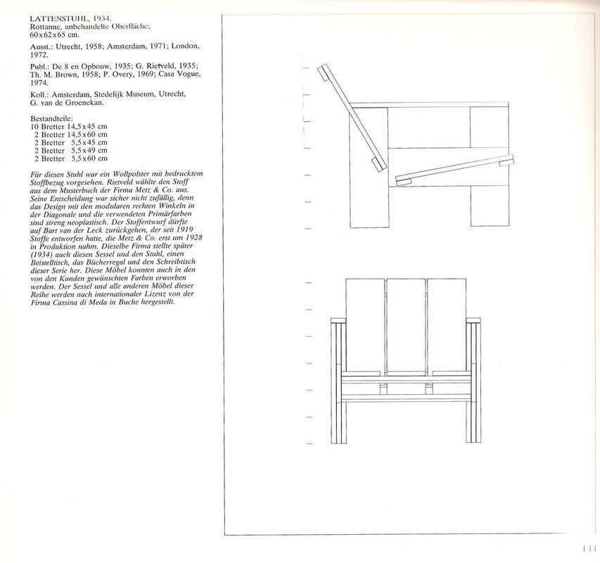 gerrit rietveld chair plans - Wallpapers photos images ... Gerrit Rietveld Chair Plans