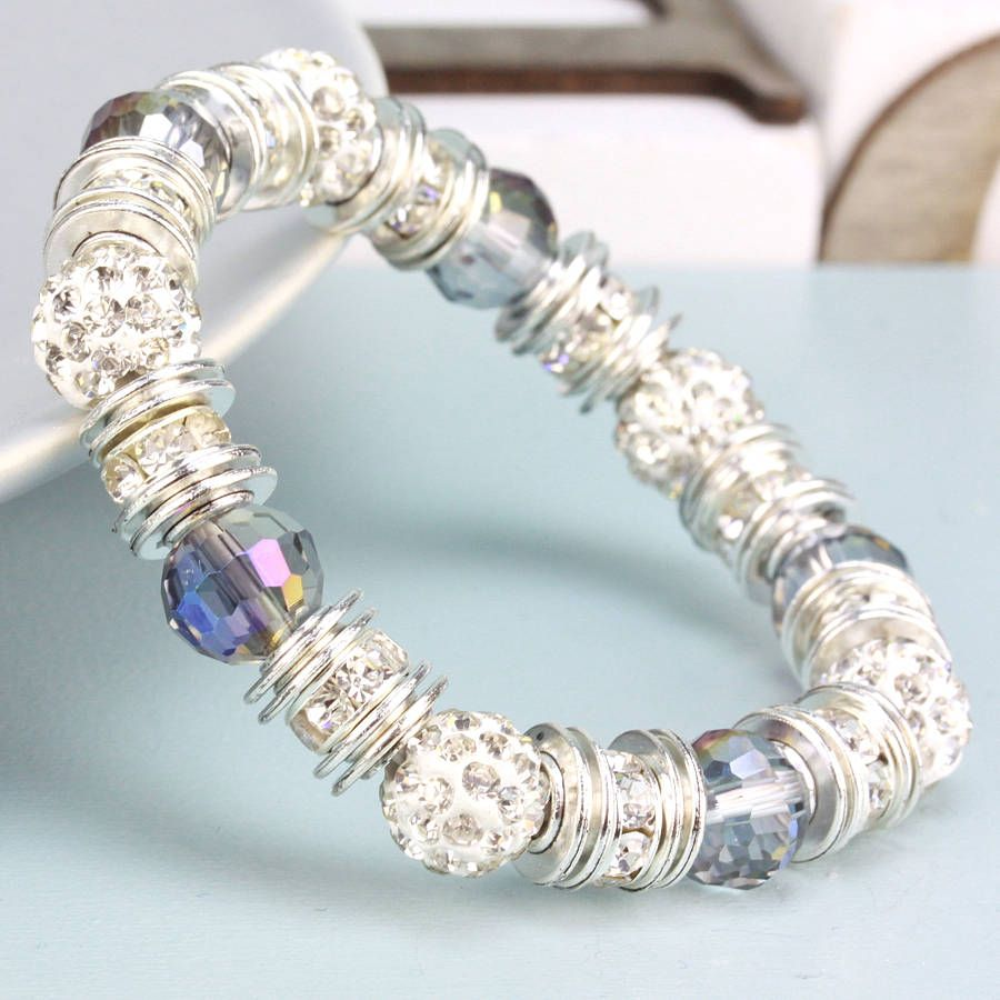 Sparkly Ball And Ab Bracelet