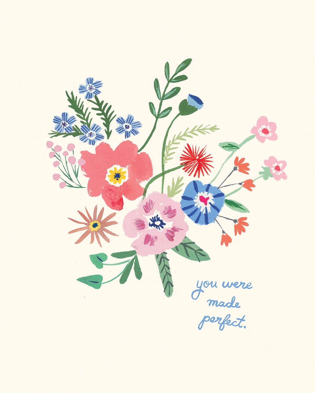 Lars book club august floral illustrations plant