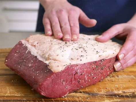 Roastbeef braten - so geht's #steakfajitarecipe