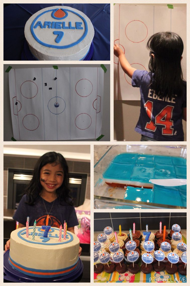 Edmonton Oilers Themed Party Kids Birthday Party Themes - Childrens birthday venues edmonton