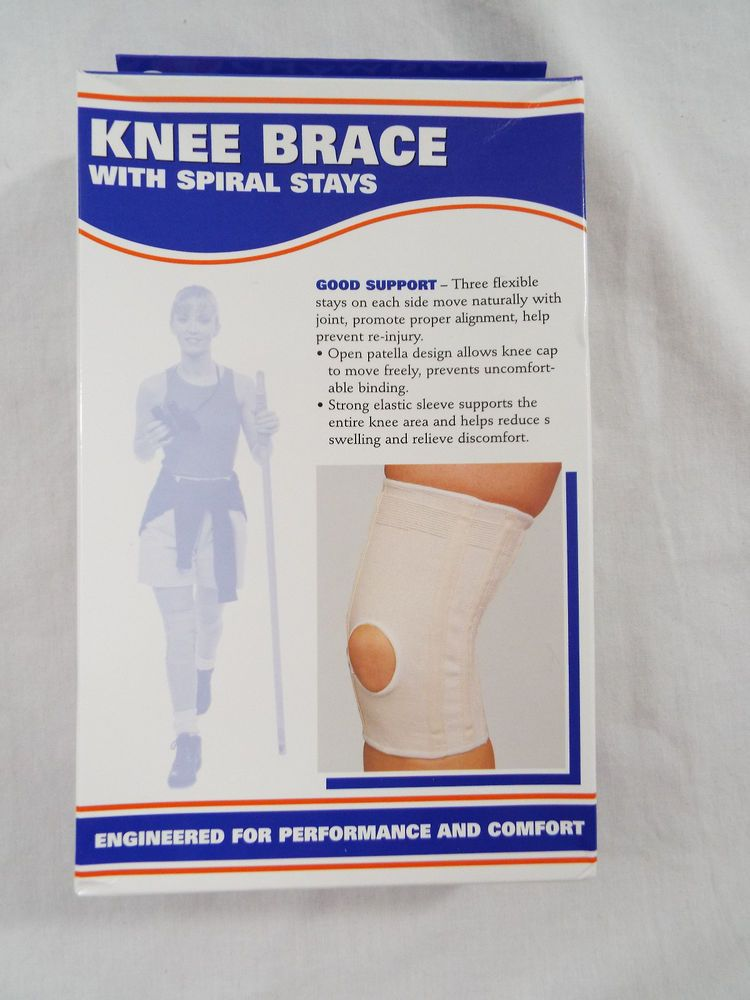 ed99a216bd Champion Knee Brace with Flexible Spiral Stays XL C-72 One Support 0011265  #Champion