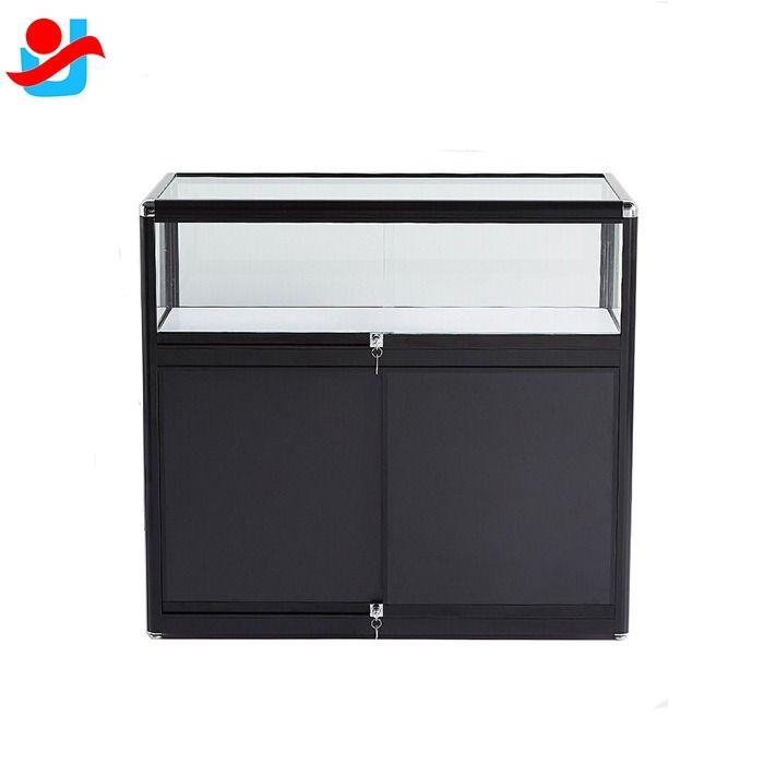 Portable Exhibition Cabinet : Aluminum portable exhibition counter display modular showcase