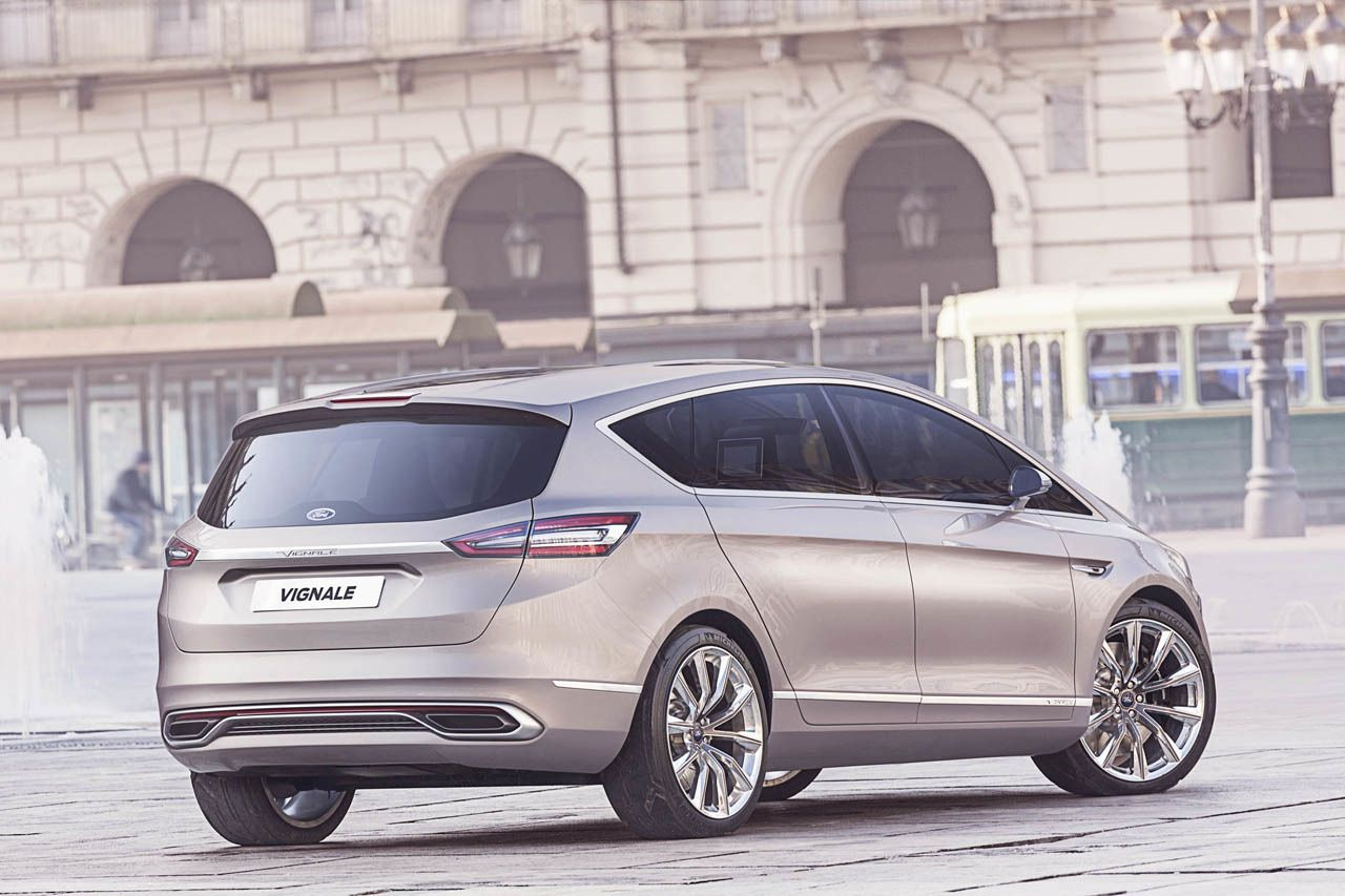Ford SMax Vignale Concept Car, Ford, cars