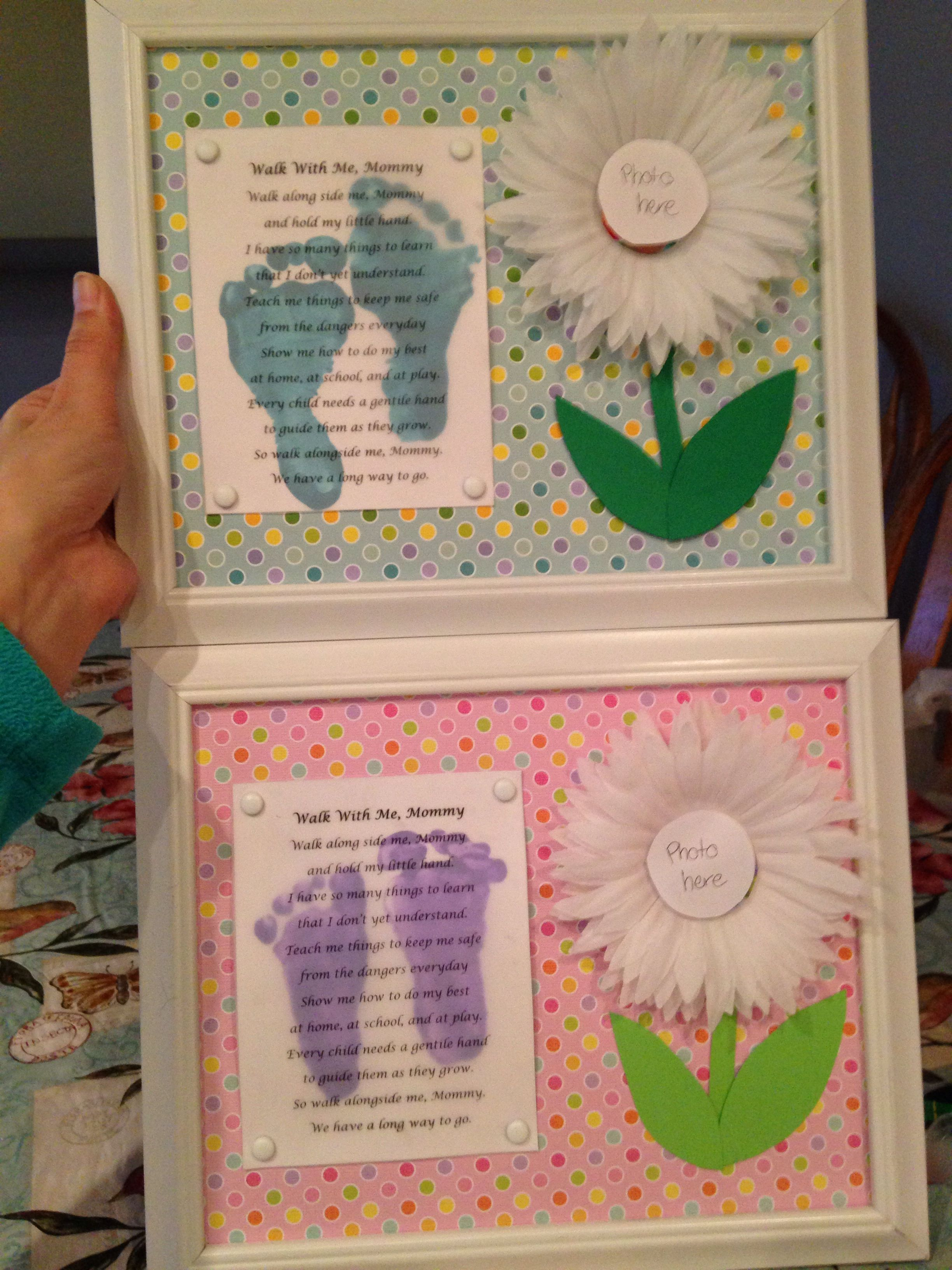 Infant Mothers Day Gift Craft Ideas