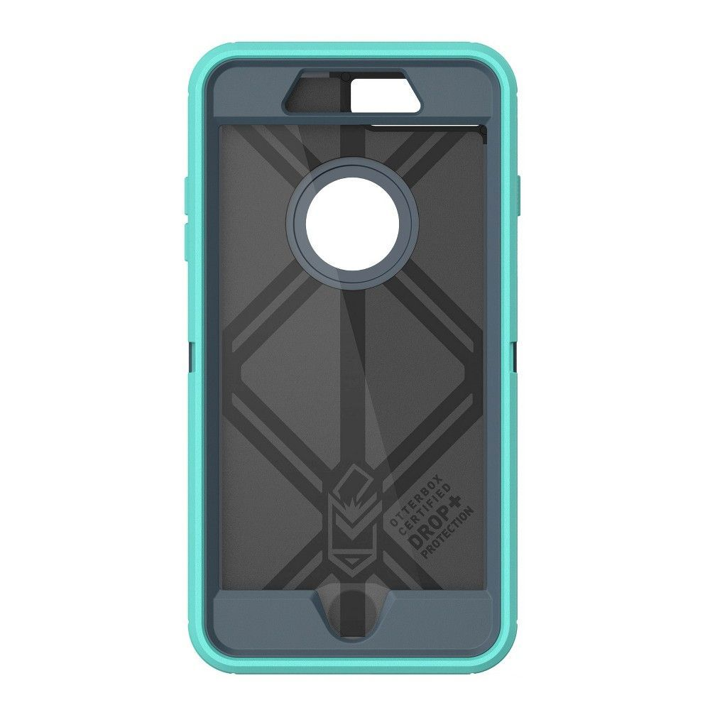 free shipping 35c1a 219d3 iPhone 7 Plus Case - OtterBox Defender - Borealis, Teal Nights ...