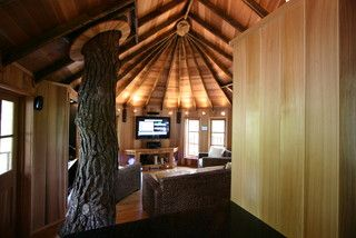 Serious grown-up tree house