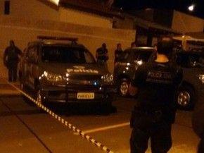 Polícia concentra buscas na região para localizar os criminosos (Foto: Divulgação / Polícia Militar)