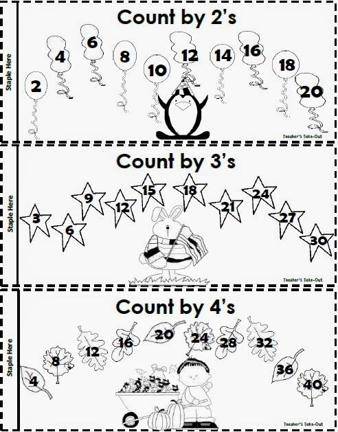 freebie learn those multiplication facts with ease using the skip counting booklet. Black Bedroom Furniture Sets. Home Design Ideas