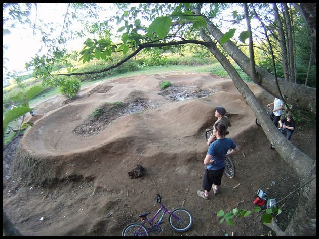Garden With Pump Track Google Search Mountain Biking Mtb