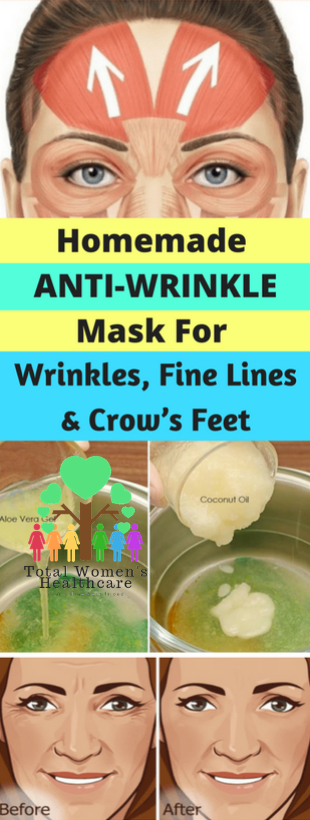 Homemade AntiWrinkle Mask For Winkles, Fine Lines and