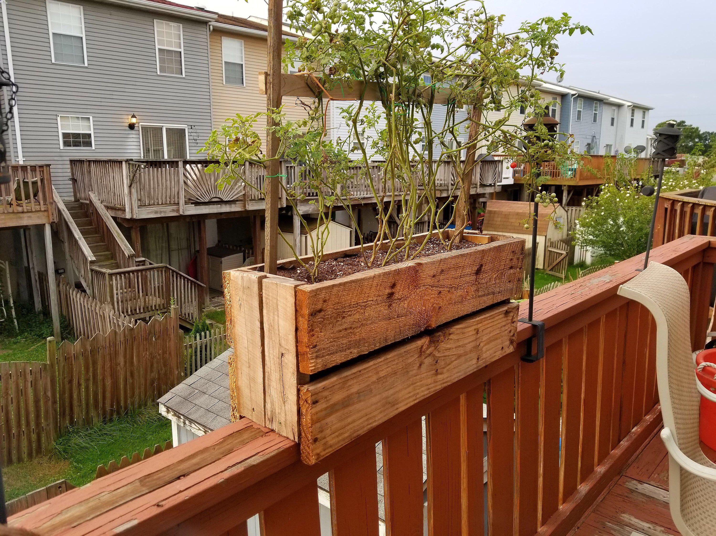35+ Deck rail herb garden inspirations