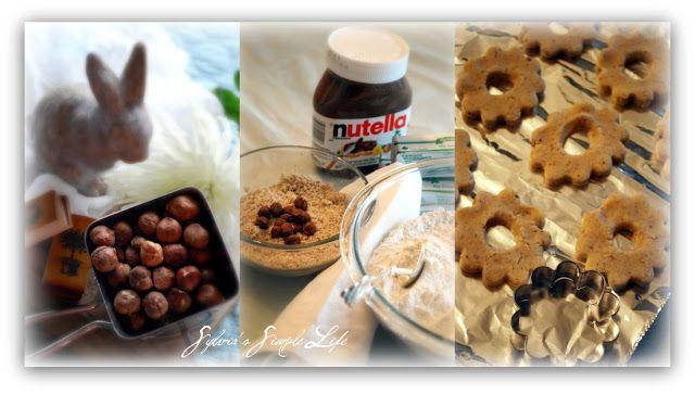 Sylvia's Simple Life:  Chocolate Hazelnut Cookies