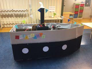 Stoomboot van Sinterklaas
