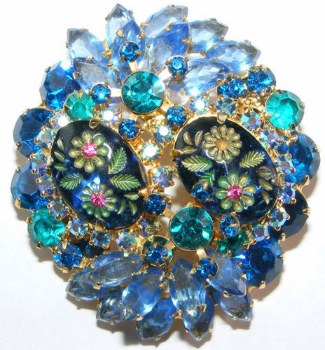 Juliana Jewelry / Delizza & Elster / D & E  Brooch