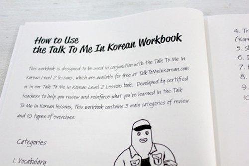 Talk To Me In Korean Workbook: Level 2   Products   Korean