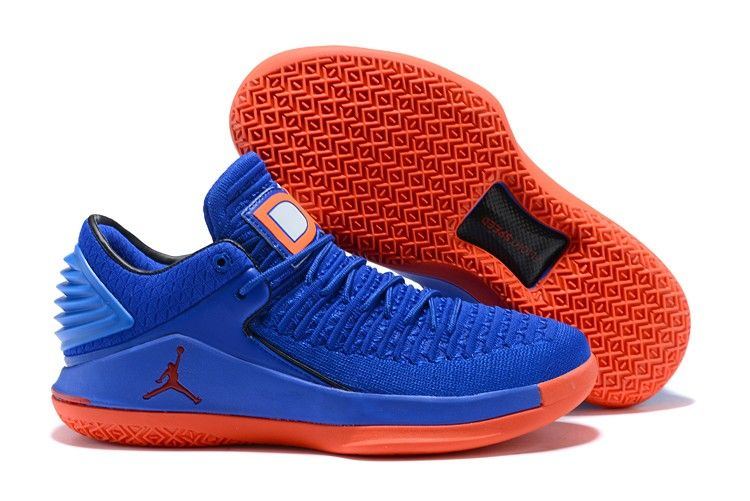 uk availability 11d25 41c23 2018 Air Jordan 32 Low Game Royal Orange Blaze For Sale